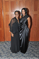 Parthenia and youngest daughter Second Annual Black-tie Benefit Gala